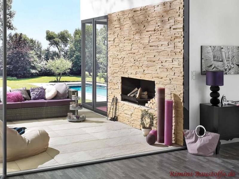 terrassenplatten rio farbe ocre bilder. Black Bedroom Furniture Sets. Home Design Ideas