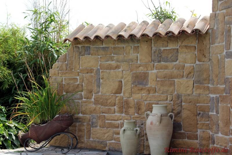 bilder mediterrane gartenmauern – rekem, Garten und Bauen